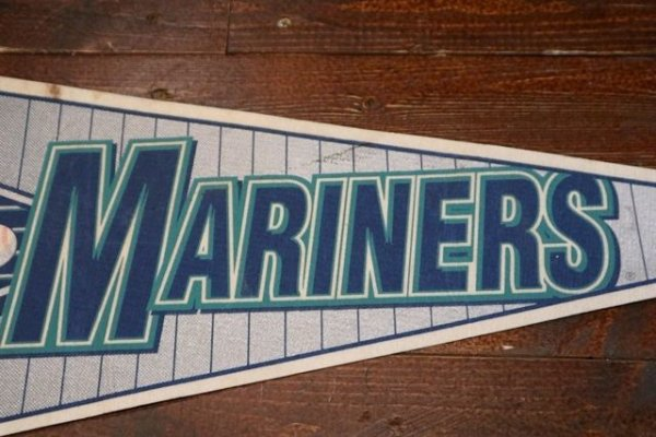 画像3: dp-181115-05 SEATTLE MARINERS / 1990's Pennant