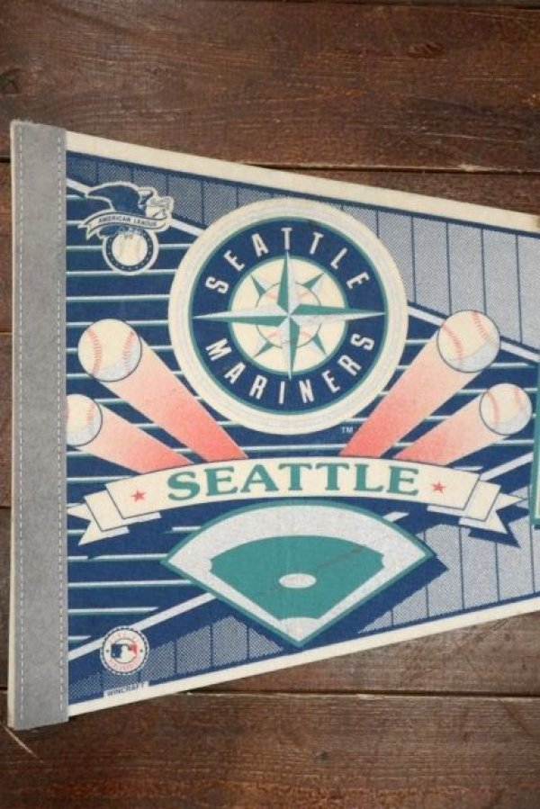画像2: dp-181115-05 SEATTLE MARINERS / 1990's Pennant