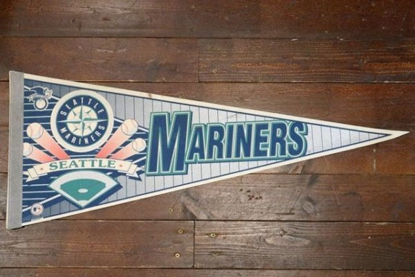 画像1: dp-181115-05 SEATTLE MARINERS / 1990's Pennant