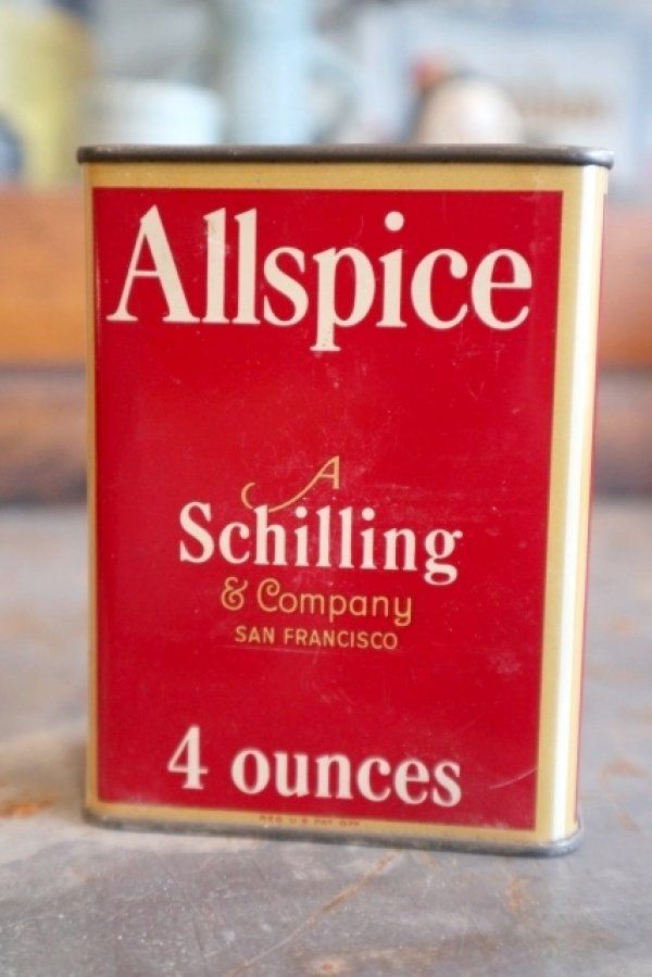 画像1: dp-181115-20 Schilling / All Spice Can