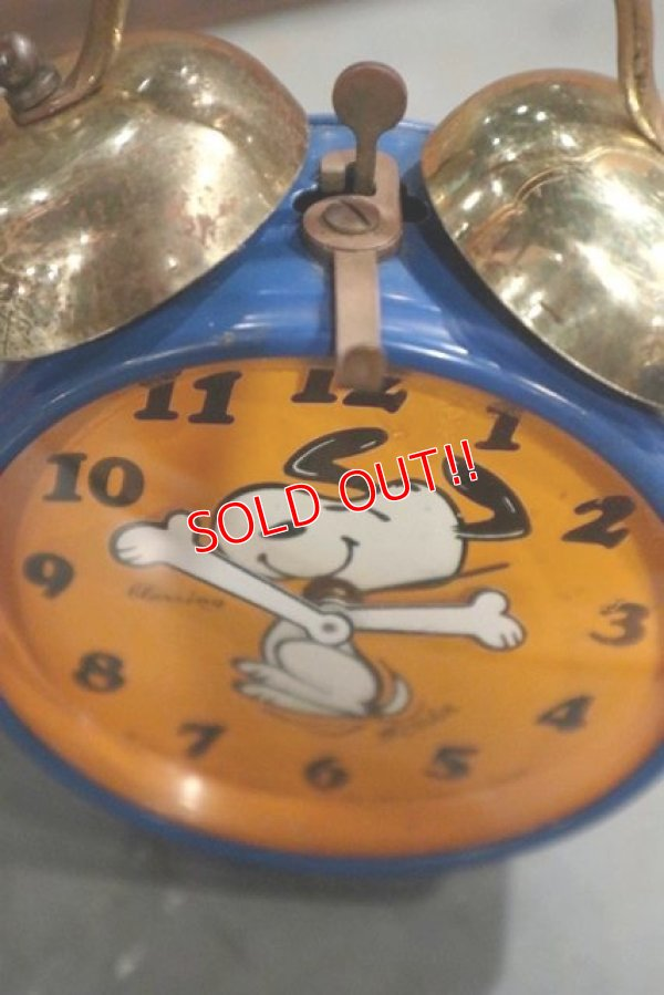 画像4: ct-181203-03 Snoopy / Blessing 1970's Alarm Clock
