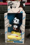 ct-181203-06 Mickey Mouse / Helm 1980's Talking Toothbrush