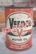 dp-181203-04 VEEDOL / 1950's Motor Oil Can