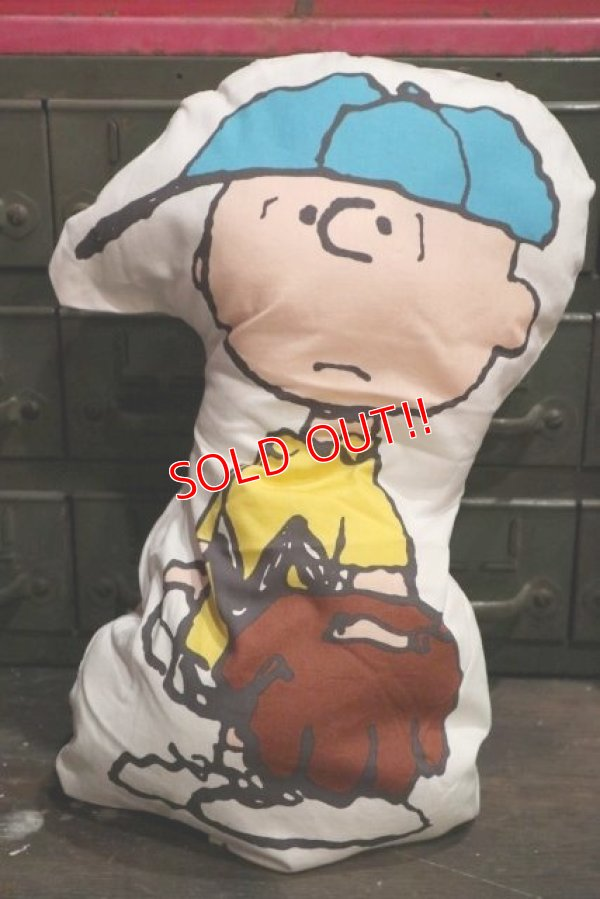 画像1: ct-181203-57 Charlie Brown / 1990's Cushion