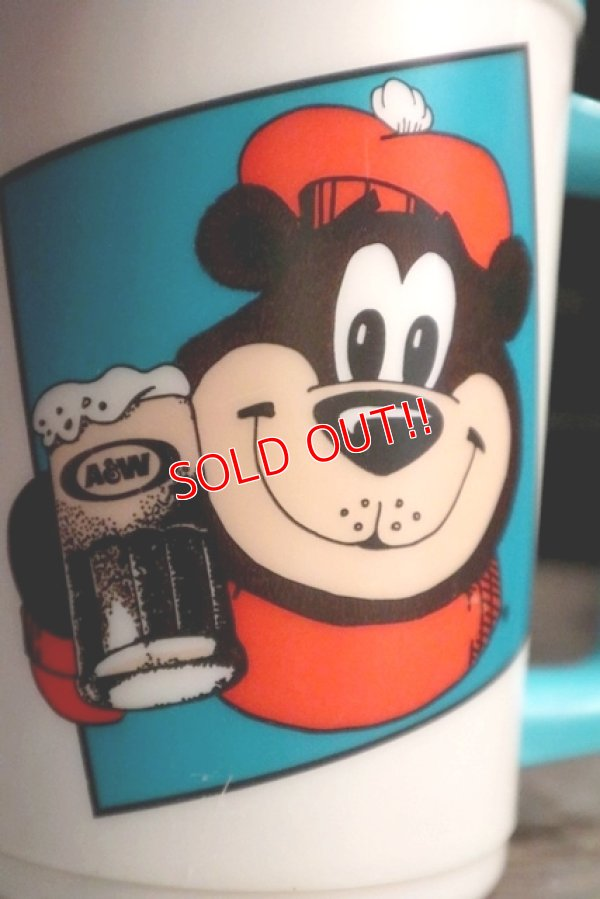 画像2: ct-181203-73 A&W / Great Root Bear 1990's Plastic Mug