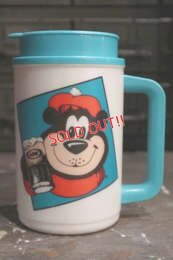 画像1: ct-181203-73 A&W / Great Root Bear 1990's Plastic Mug