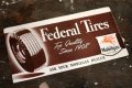 dp-181203-13 Mobilgas Federal Tire / 1950's Blotting Paper