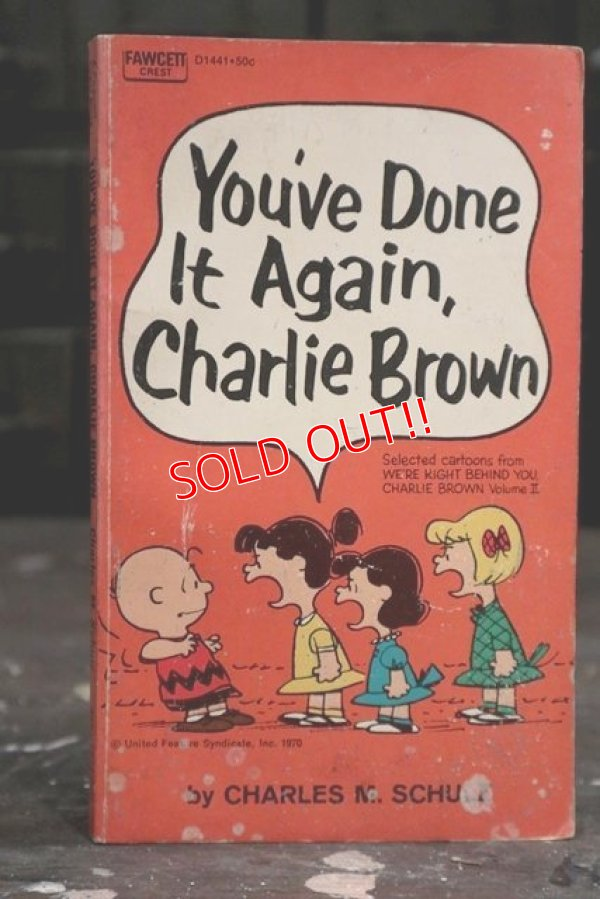 "画像1: ct-181203-77 PEANUTS / 1970 Comic ""You've Done It Again,Charlie Brown"""