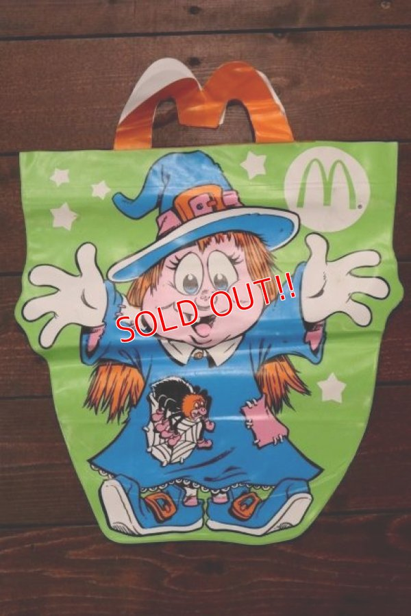 "画像1: ct-190101-63 McDonald's / 1991 McBoo Bags ""Witch"""