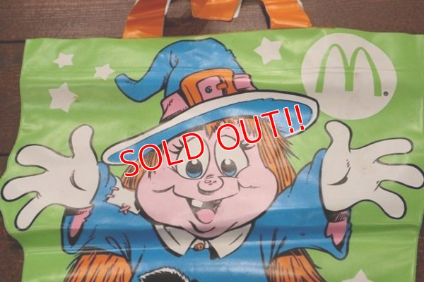"画像2: ct-190101-63 McDonald's / 1991 McBoo Bags ""Witch"""