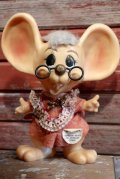 "ct-190101-80 ROYALTY Industries / 1970's Roy Des of Florida Mouse Bank ""Glasses"""