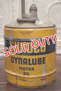 dp-190201-08 SUNOCO / 1950's 5 Gallons Dynalube Motor Oil Can