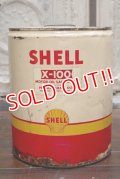 dp-190201-09 SHELL / 1950's 5 Gallons Oil Can