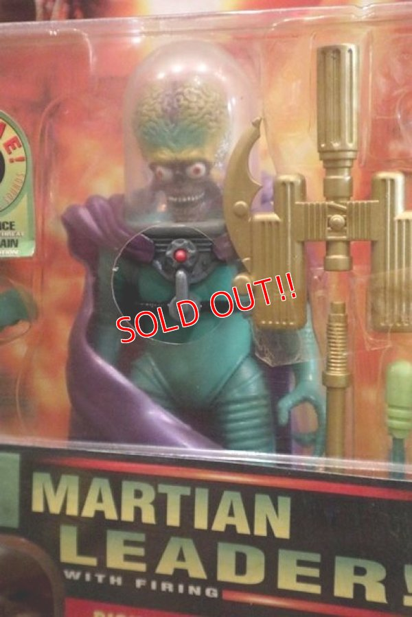 """画像2: ct-160113-13 MARS ATTACKS! / 1996 Action Figure """"Martian Leader!"""""""