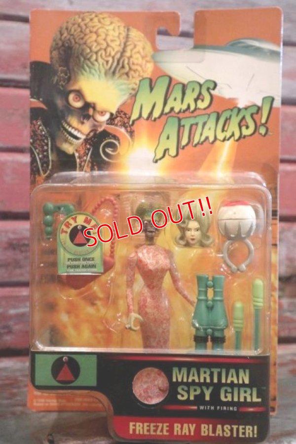 """画像1: ct-160113-14 MARS ATTACKS! / 1996 Action Figure """"Martian Spy Girl"""""""
