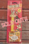 pz-160901-151 Bugs Bunny / 1980's PEZ Dispenser Mint on Card