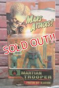 "ct-160113-12 MARS ATTACKS! / 1996 Action Figure ""Martian Trooper"""