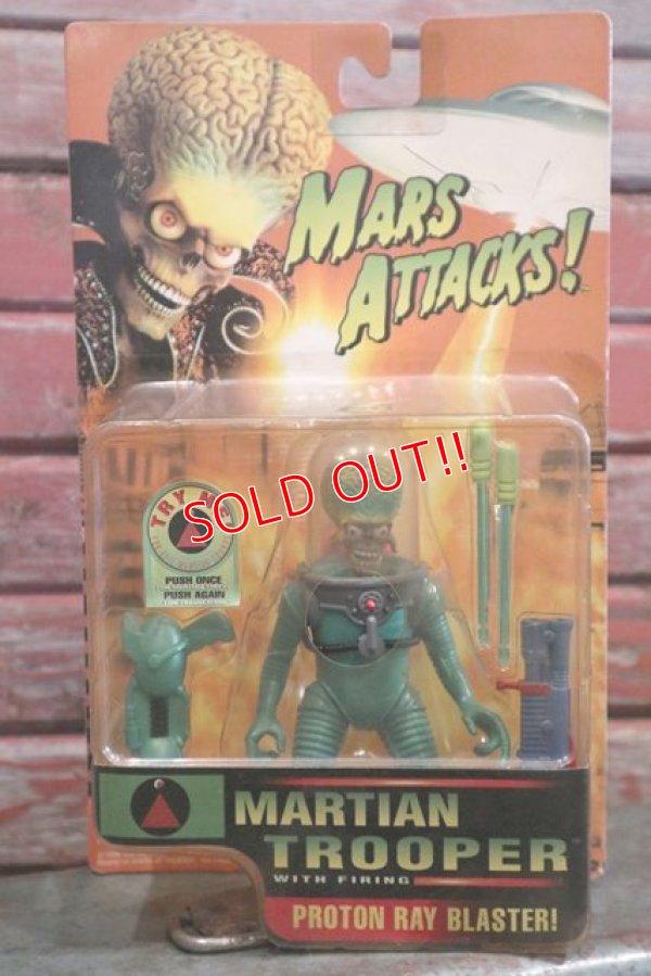 """画像1: ct-160113-12 MARS ATTACKS! / 1996 Action Figure """"Martian Trooper"""""""