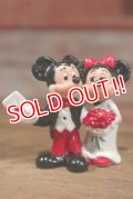 "ct-1902021-21 Mickey Mouse & Minnie Mouse / 1980's PVC ""Date"""