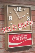 dp-190201-49 Coca Cola / 1970's-1980's Wall Clock
