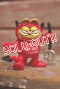 ct-1902021-61 Garfield / 1979 PVC Red Devil