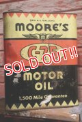 dp-190201-44 MOORE'S / C-75 2 U.S.Gallon Motor Oil Can