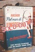 dp-190201-43 Archer / Vintage Pol-mer-ik Linseed Oil Can