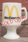 dp-190201-61 McDonald's / Federal 1960's-1970's Footed Mug