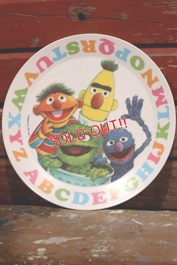 画像1: ct-1902021-111 Sesame Street / 1970's Plastic Plate