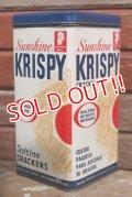 dp-190201-60 Sunshine / 1970's KRISPY Crackers Can