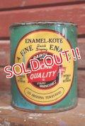 dp-150115-08 ACME QUALITY / Vintage Enamel-Kote Can