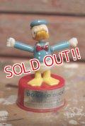 ct-160901-151 Donald Duck / Kohner Bros 1970's Mini Push Puppet