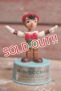 ct-160901-151 Pinocchio / Kohner Bros 1970's Mini Push Puppet