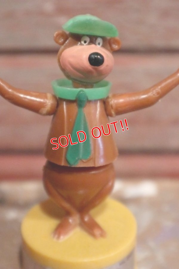 画像2: ct-160901-151 Yogi Bear / Kohner Bros.1970's Push Button Puppet