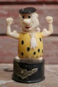 ct-160901-151 Fred Flintstone / Kohner Bros.1970's Push Button Puppet