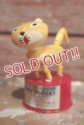 ct-160901-151 Candy the Cat / 1970's Push Puppet