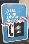 dp-190301-06 AT&T / 1990's Long Distance Service Sign