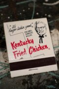 nt-190315-01 Kentucky Fried Chicken / Vintage Match Book