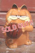 "ct-190301-15 Garfield / 1980's Ceramic Coin Bank ""Basketball"""
