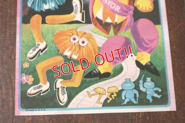 "画像4: ct-190301-50 McDonaldland / 1970's Slaphappys Sticker ""Mayor Mccheese & The Gobblins"""