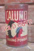 dp-190301-43 CALUMET / Vintage Baking Powder Can