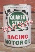 dp-190201-13 QUAKER STATE / 1960's Racing Motor Oil Can