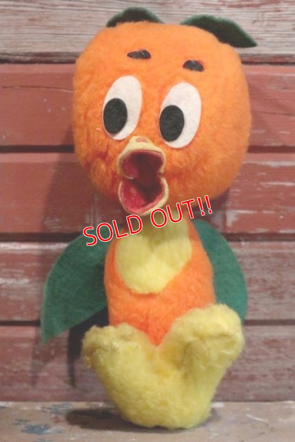 画像1: ct-190301-67 Florida Orange Bird / 1970's Plush Doll