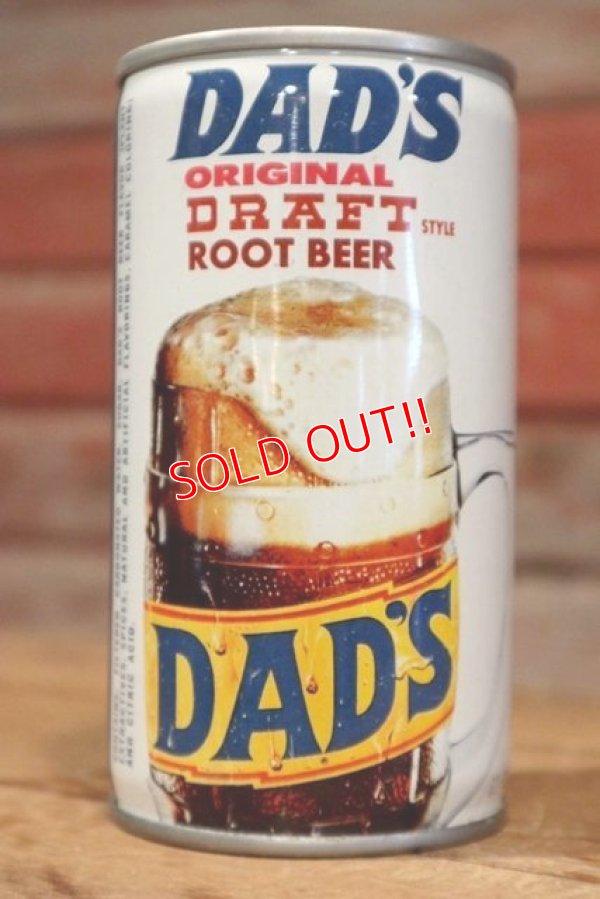 画像2: dp-190402-13 DAD'S ROOT BEER / 1970's Can