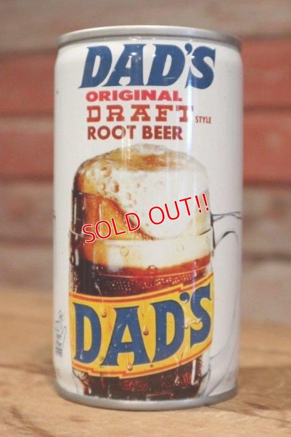 画像1: dp-190402-13 DAD'S ROOT BEER / 1970's Can