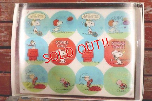 画像1: ct-190401-10 Snoopy / Lenticular Sheet (A)