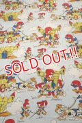 ct-190402-30 Woody Woodpecker / 1970's Flat Sheet  (Twin)