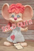 "ct-190402-13 ROYALTY Industries / 1970's Roy Des of Fla Mouse Coin Bank ""Rosy"""