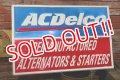 dp-190401-01 AC Delco / Vintage Metal Sign