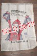dp-190501-02 Budweiser / BUD MAN 1980's Trash Bags